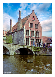 Along a Canal in Brugge