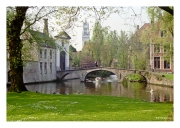 Stroll Along a Canal in Brugge