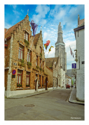 Walking in Brugge