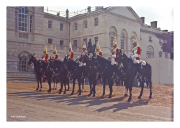 Life Guards at Whitehall