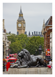 Big Ben and Landseer's Lion