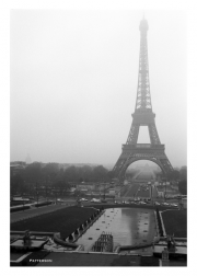Eiffel Tower Reflected