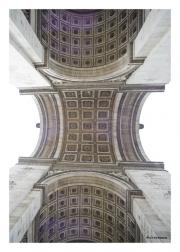 Arc de Triomphe - Looking Up