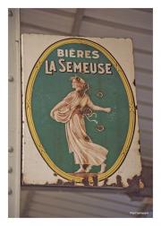 Beer Advertising Sign