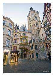 Walking through Rouen