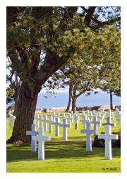 American Cemetery Overlooking Omaha Beach