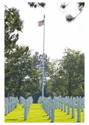 US Military Cemetery Above D-Day Landing