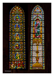 Bayeux Cathedral Stained Glass Windows