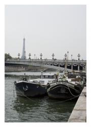 Pont Alexandre III Boats