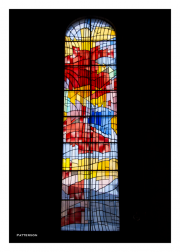 Stained Glass Window at St. Laud