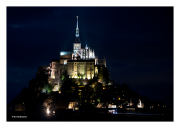 Lights of Mont St. Michel