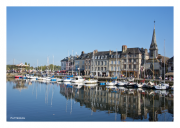 Along the Waterfront in Honfleur