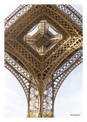 Eiffel Tower Overhead