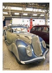 Blue & Silver Classic Car