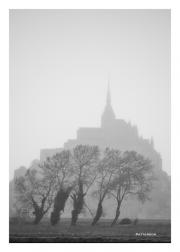 Mont St. Michel in the Mist