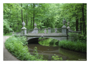 Garden Bridge at Nymphenburg Palace