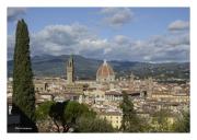 Cityscape with Cattedrale di Santa Maria del Fiore