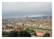 Cityscape with Cattedrale di Santa Maria del Fiore and Ponte Vecchio