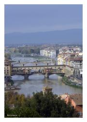 Ponte Vecchio from Monestary