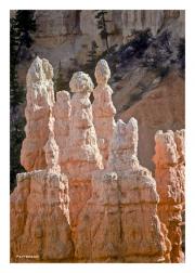 Bryce Canyon rock pillars