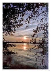 Sunset at Wildlife Refuge