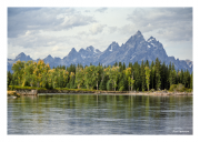 Grand Tetons from Snake River