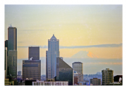 Seattle Skyline & Mount Rainier