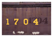 1704 Train Passenger Car
