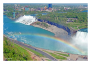 Niagra Falls with Rainbow