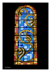 St. Laud Cathedral Stained Glass Window
