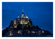 Night at Mont St. Michel