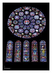 Stained Glass Windows of Chartres