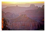 Sunrise over Grand Canyon