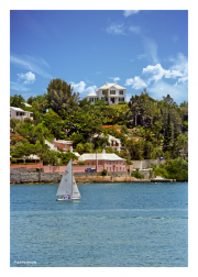 Sailing Along Bermuda's Coast