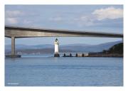 Bridge to Skye with Lighthouse