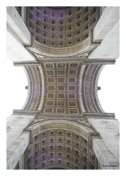 Arc de Triomphe - Looking Up