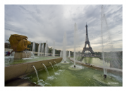 Eiffel Tower & Trocadero Fountain