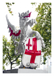 Dragon with Cross of St. George