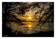 Sunset Over Heinz Wildlife Refuge