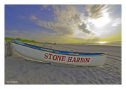 Sunrise over Stone Harbor