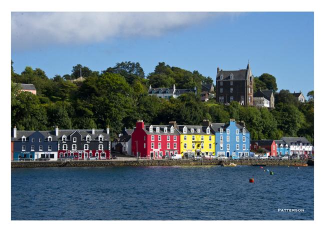 Isle of Mull Tobermoray Bay Water Scotland UK United Kingdom