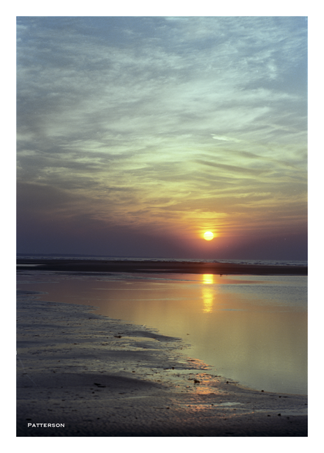 sunrise/sunset water