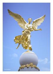 Sube Fountain Statue