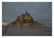 Mont St. Michel at Dusk