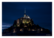 Mont St. Michel at Night
