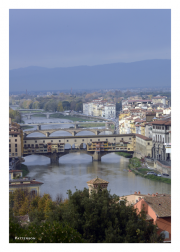 Ponte Vecchio from Monestary