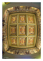 Coffered Ceiling in Pitti Palace