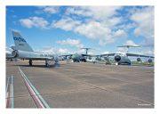 """F-106A """"Delta Dart"""" & C-141 """"Starlifter"""""""