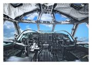 "Cockpit of B-52 ""Stratofortress"""