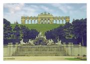 Gloriette & Fountain